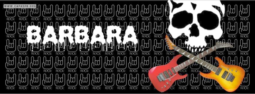 Capas para Facebook Barbara