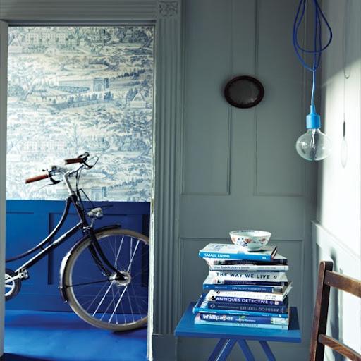 Sự kết hợp hoàn hảo của cặp đôi trắng - xanh dương trong nhà bạn