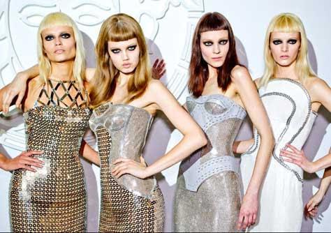 Donatella Versace, desfile
