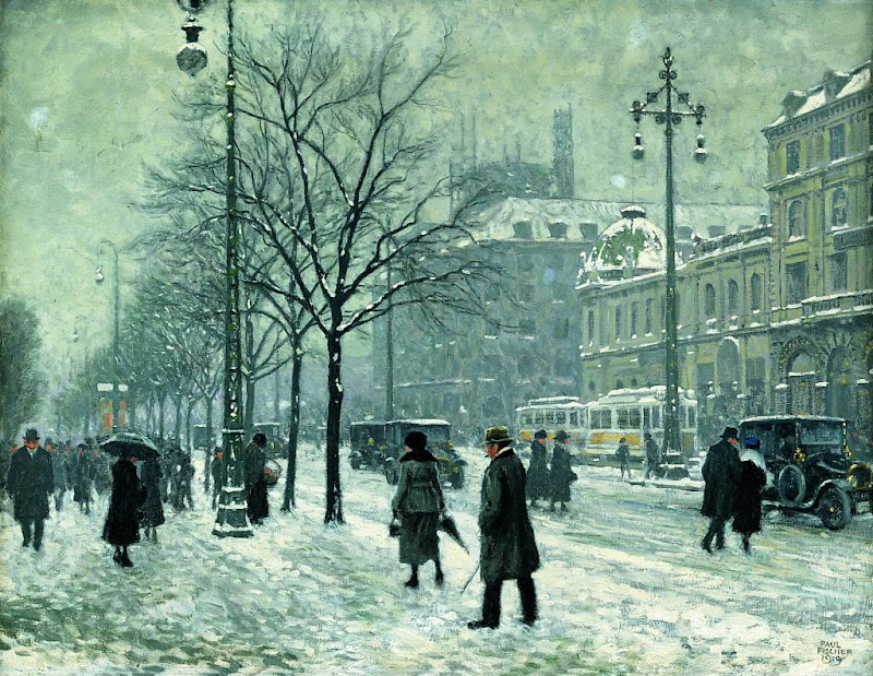 Paul Gustave Fischer - Winter