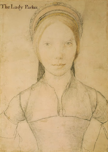 Hans Holbein the Younger - Grace, Lady Parker