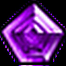 無瑕星芒紫寶石