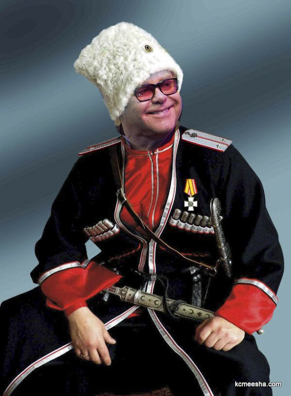 Communists To Elton John: When In Cossack Land Dress As Cossacks Do