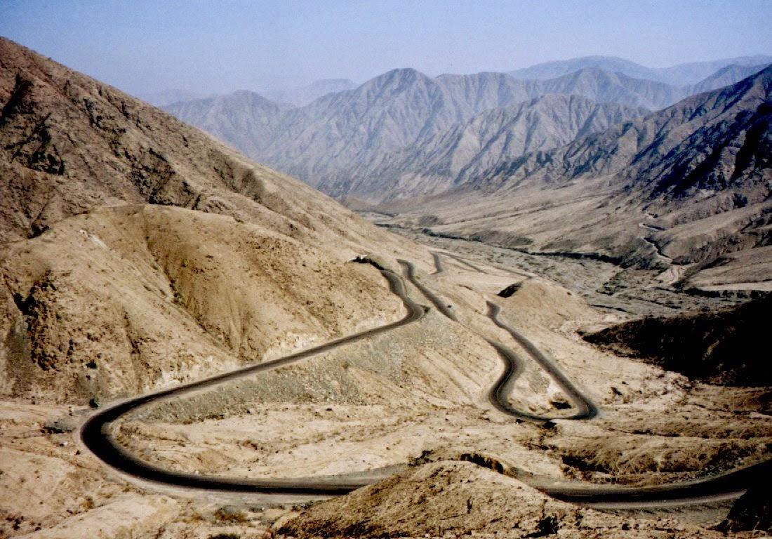 Andenpass bei Nazca