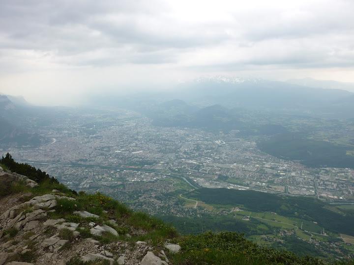 Vue sur Grenoble