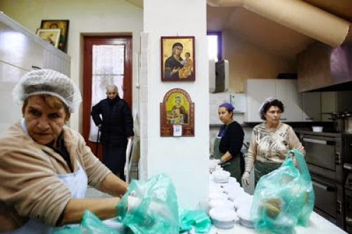 Greek Church Resources Strained By Crisis
