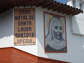 Casa Natal Santa Laura Jerico Antioquia