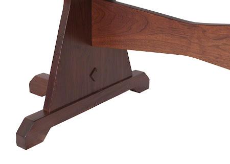 """70"""" x 42"""" Huntington Table Leg Detail"""