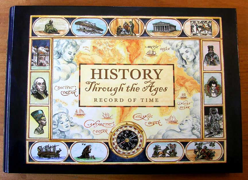 History Book Cover Ideas ~ Seasons of learning review history through the ages
