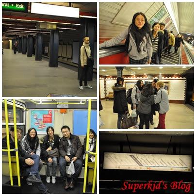 我們在布達佩斯地鐵