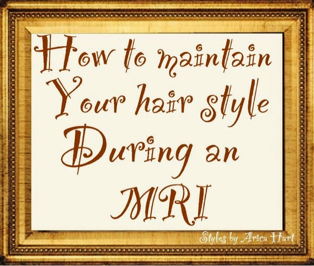 How to maintain your hair style during an MRI | The type of hairpin youmay be able to use