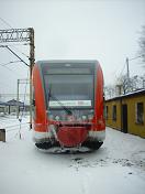 Niemiecki Szynobus VT-646 w Zielonej Górze
