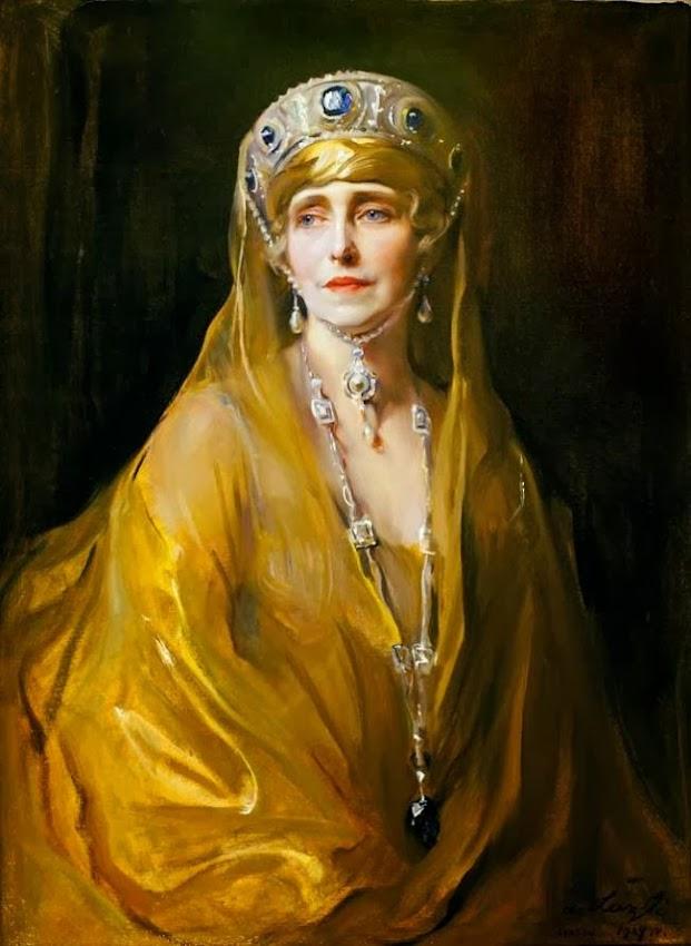Istoria unui tablou fabulos. Portretul Reginei Maria
