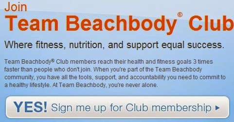 Join Team Beachbody Club