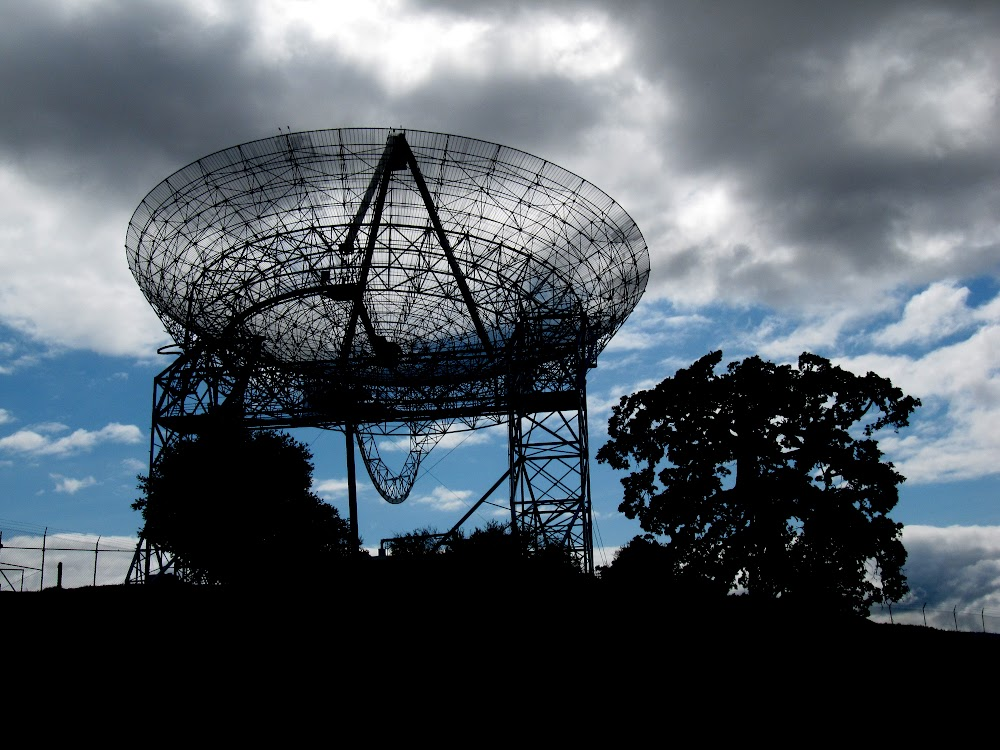 The Dish at Stanford's nature reserve