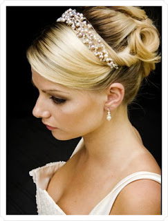 Wedding Hairstyle with Headbands - Celebrity Hairstyle Ideas