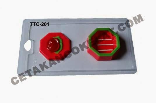 Cetakan Coklat TTC201 Tray Mawar