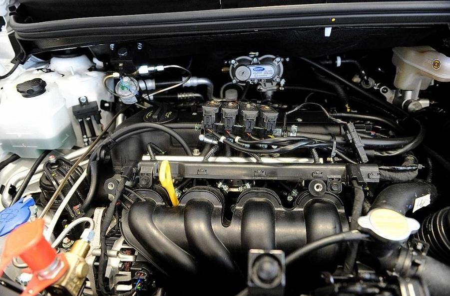 Hyundai ix20 CNG - wygląd instalacji zasilania gazem ziemnym