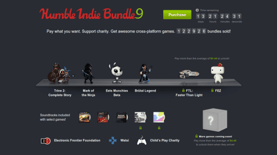 'Humble Indie Bundle 9' ya disponible