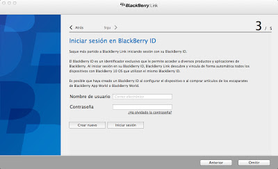 Usuario BlackBerry