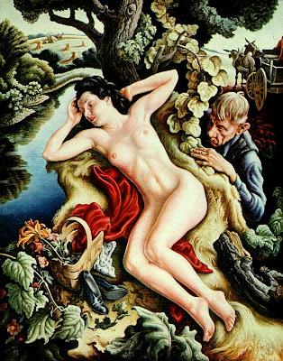 Thomas Hart Benton, American, 1889-1975 -Persephone