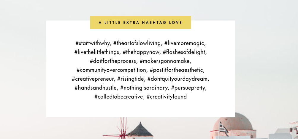 hashtags to use on Instagram for quiz result