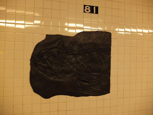 地下鉄の駅のオブジェ