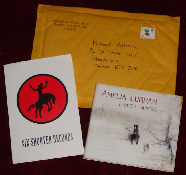 Amelia Curran, Hunter Hunter, from Six Shooter Records