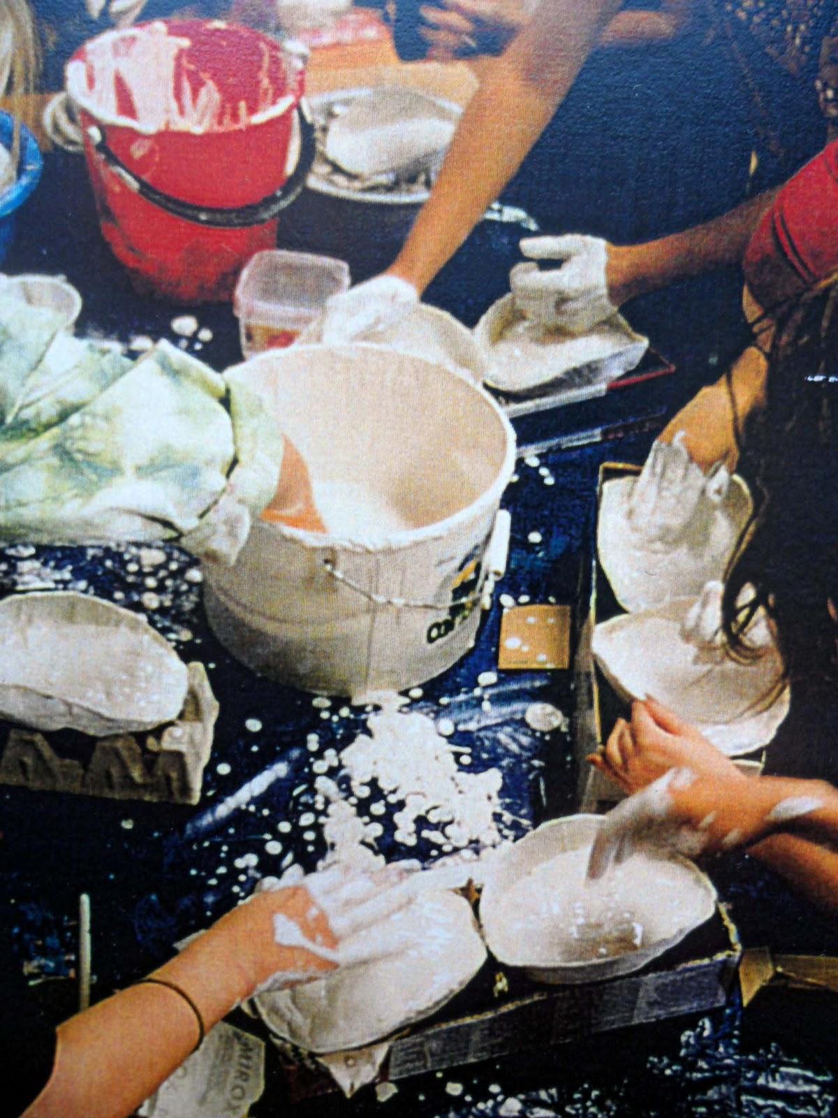 Kipsimuotin valmistus