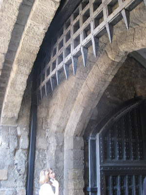 Portcullis in inner curtain wall, Tower of London