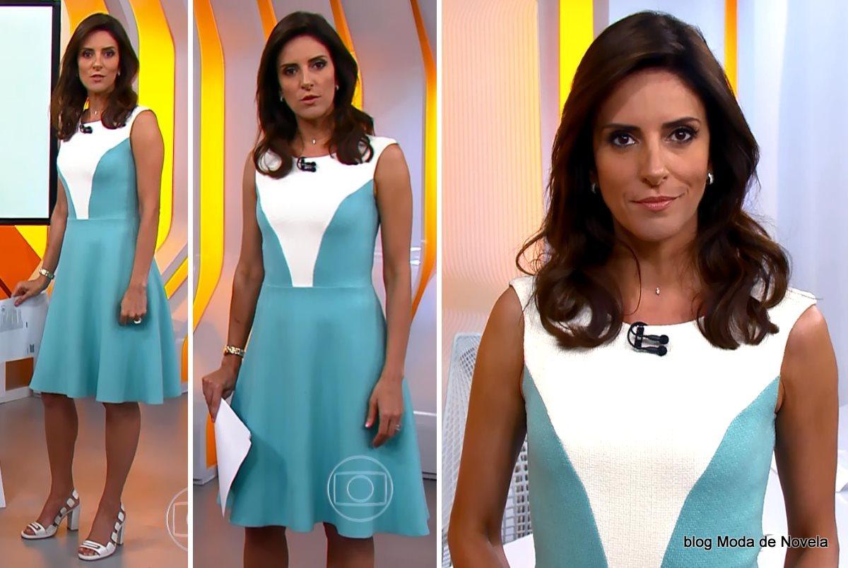 moda do programa Hora 1, look da Monalisa Perrone dia 29 de dezembro