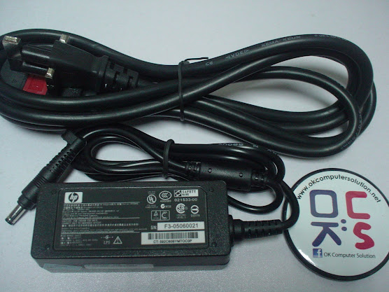 New Charger Adapter 1.58A for HP Compaq Laptop