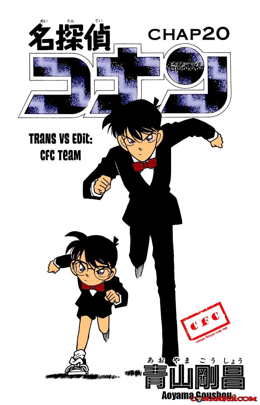 cn 023, Thám tử lừng danh Conan chap 20    NarutoSub