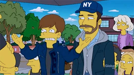 justin bieber cameo appearance on the simpsons