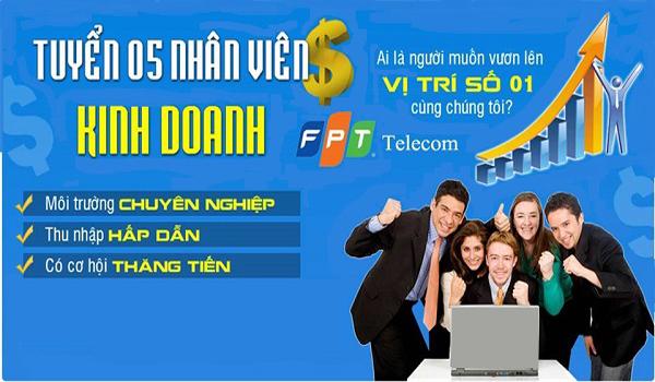 Công Ty FPT Telecom Thủ Dầu Một Tuyển Dụng Năm 2017