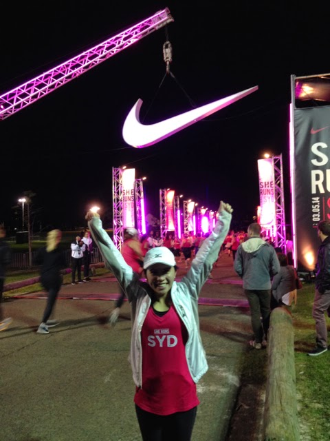 Nike She Runs 2014 Finish Line