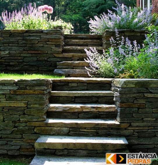 Modelo de Escada e Degraus