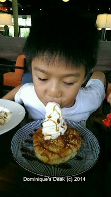 Little Fuji- Waffle with ice-cream