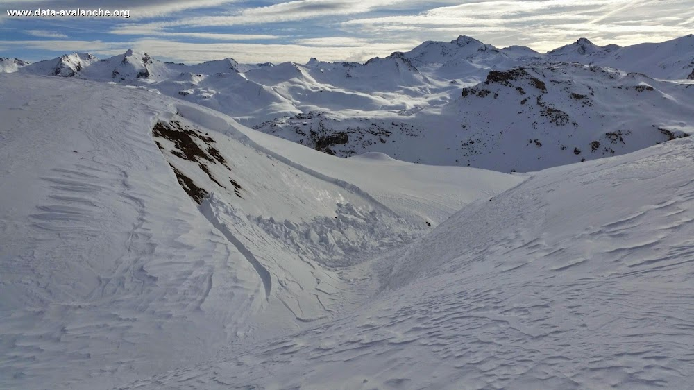 Avalanche Haute Tarentaise, secteur Val d'Isère, Lac du Grapillon - Photo 1