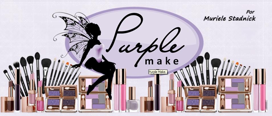 Blog da Muriele Stadnick Purple Make