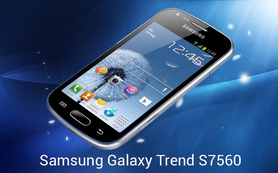 Hướng dẫn Hard Reset Samsung Galaxy Trend S7560