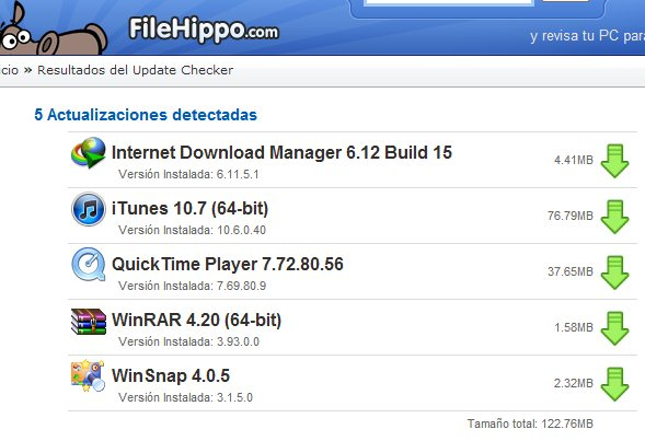 FileHippo Update Checker