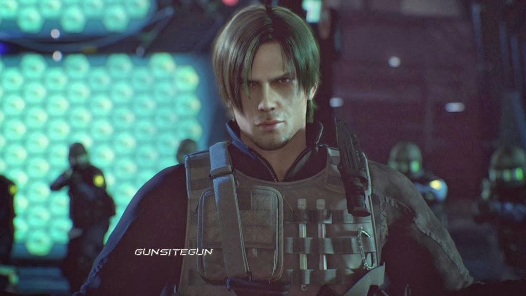 Biohazard Resident Evil Damnation Tactical Leon Jacket Waterproof
