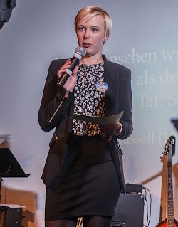 Moderatorin Halice Kreß-Vannahme