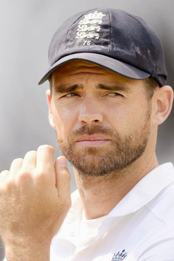 England's James Anderson looks on after the third test cricket match against India at the Rose Bowl cricket ground, in England July 31, 2014.