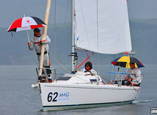 J/80 one-design sailboat