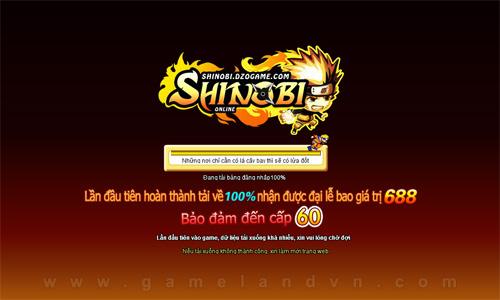 Shinobi Online đã xác nhận mở game chính thức 2