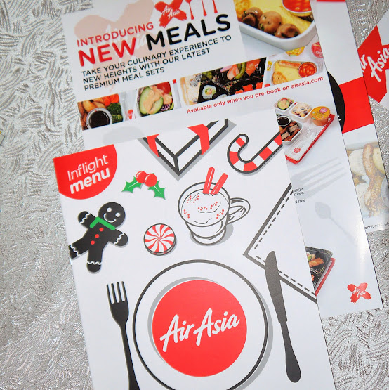 AirAsia and AirAsia X New In-Flight Dining Experience