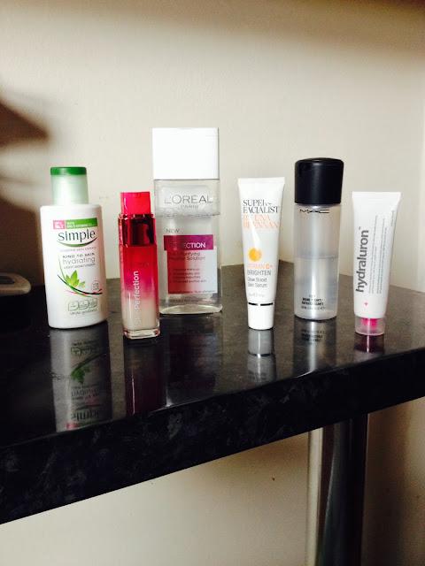 Current AM Skincare Routine