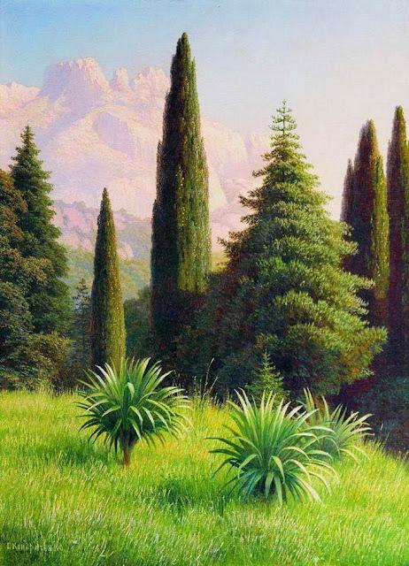 Gavril Kondratenko - Landscape with Ai-Petri